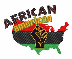 African American embroidery design