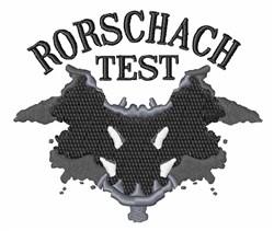 Rorschach Test embroidery design