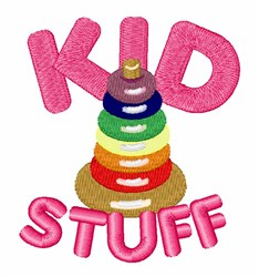 Kid Stuff embroidery design