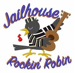 Rockin Robin embroidery design