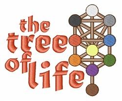 Tree Of Life embroidery design
