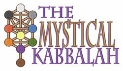 Mystical Kabbalah embroidery design
