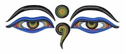 Eyes Of Buddha embroidery design