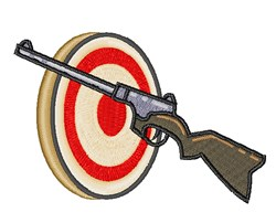 Target Shoot embroidery design