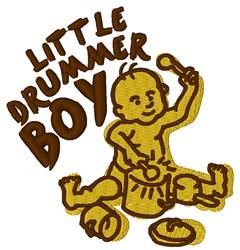 Little Drummer Boy embroidery design