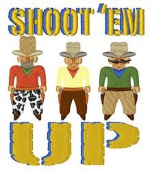 Shoot Em Up embroidery design