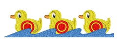 Shooting Gallery Ducks embroidery design
