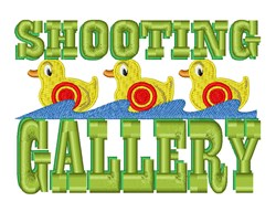 Shooting Gallery embroidery design