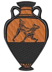 Greek Vase embroidery design