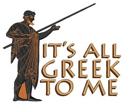 Its All Greek embroidery design
