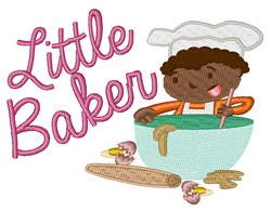 Little Baker embroidery design