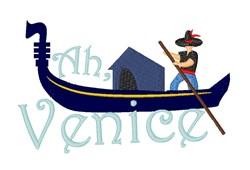 Ah, Venice! embroidery design