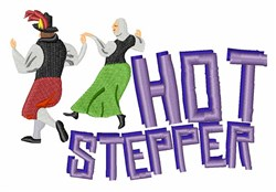 Hot Stepper embroidery design