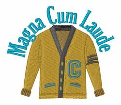 Magna Cum Laude embroidery design