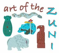 Art Of Zuni embroidery design