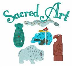 Sacred Art embroidery design