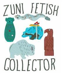 Zuni Fetish Collector embroidery design
