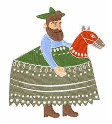 Hobby Horse embroidery design