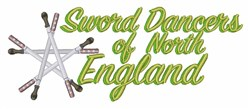 Sword Dancers embroidery design