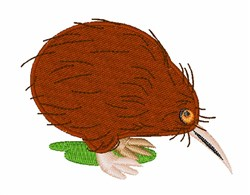 Kiwi Bird embroidery design