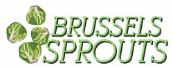 Brussels Sprouts embroidery design