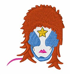 Star Man embroidery design