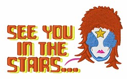 See You In Stars embroidery design