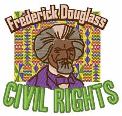 Civil Rights embroidery design