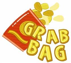 Grab Bag embroidery design