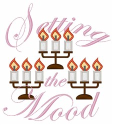 Setting the Mood embroidery design
