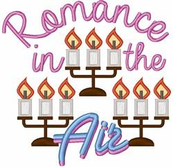 Romance embroidery design