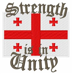 Strength In Unity embroidery design