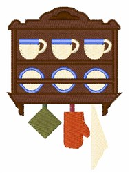 Cupboard embroidery design