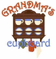 Grandmas Cupboard embroidery design