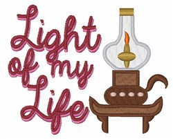 Light Of My Life embroidery design