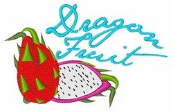 Dragon Fruit embroidery design