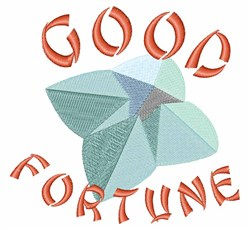Good Fortune embroidery design