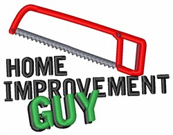 Home Improvement embroidery design