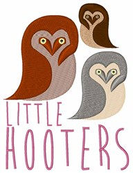 Little Hooters embroidery design