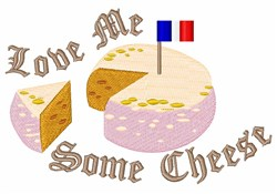 Love Cheese embroidery design