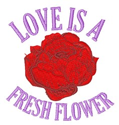 Spring Peony embroidery design
