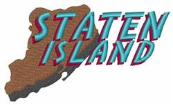 Staten Island embroidery design