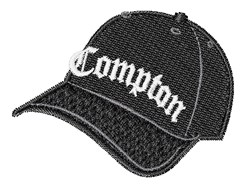 Compton Hat embroidery design