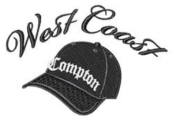 West Coast embroidery design