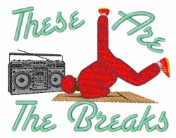 The Breaks embroidery design