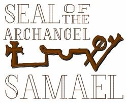 Seal of Samael embroidery design