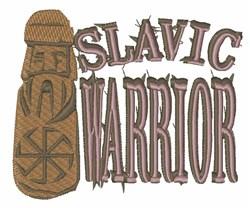 Slavic Pagan Warrior embroidery design