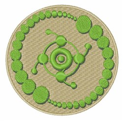 Crop Circle embroidery design