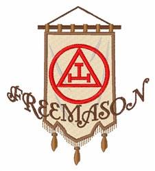 Royal Arch Freemason Banner embroidery design