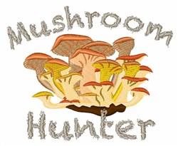 Chanterelles Mushroom Hunter embroidery design